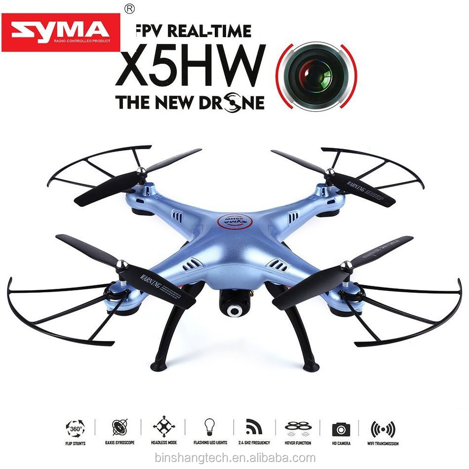 Syma X5HW 2.4G High hold mode with HD camera quadcopter Wifi FPV RC Drone