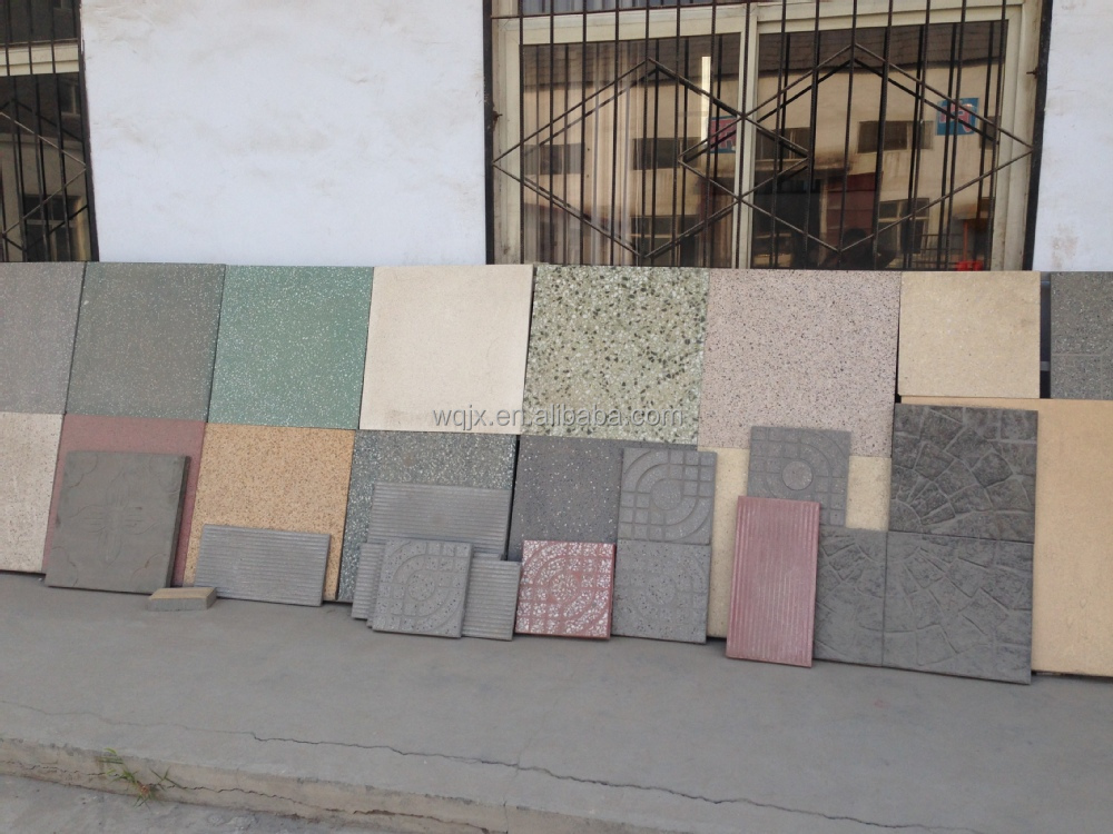 Floor Tile Making Machine Price/New Design Terrazzo Tile Making ...