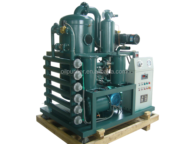 Zhongneng Tech ZYD Double Stage Vacuum Used Transformer Oil Purification Plant