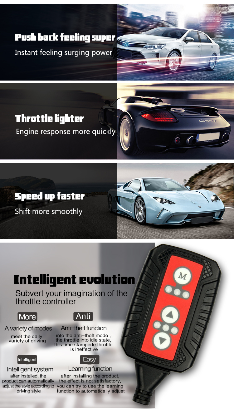 Electronic throttle controller ลบเครื่องยนต์ delay on startups fit สำหรับ toyota corolla tuning