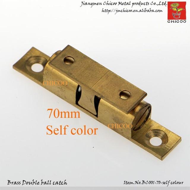 70mm Self colour brass Door ball catchesdoor holderAuto holder