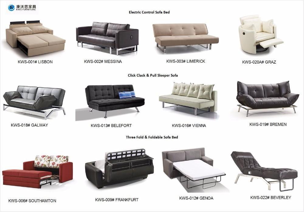 Living Room Furniture Sliding Corner Sofa Bed With Storage