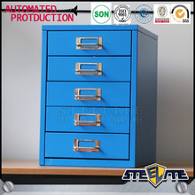 Korea style filing cabinet 5 drawer mini storage cabinet on sale