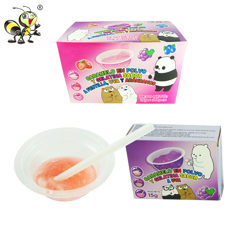 Drinkable Bubbling Sugar Magic Blow Bubble Liquid Toy Candy