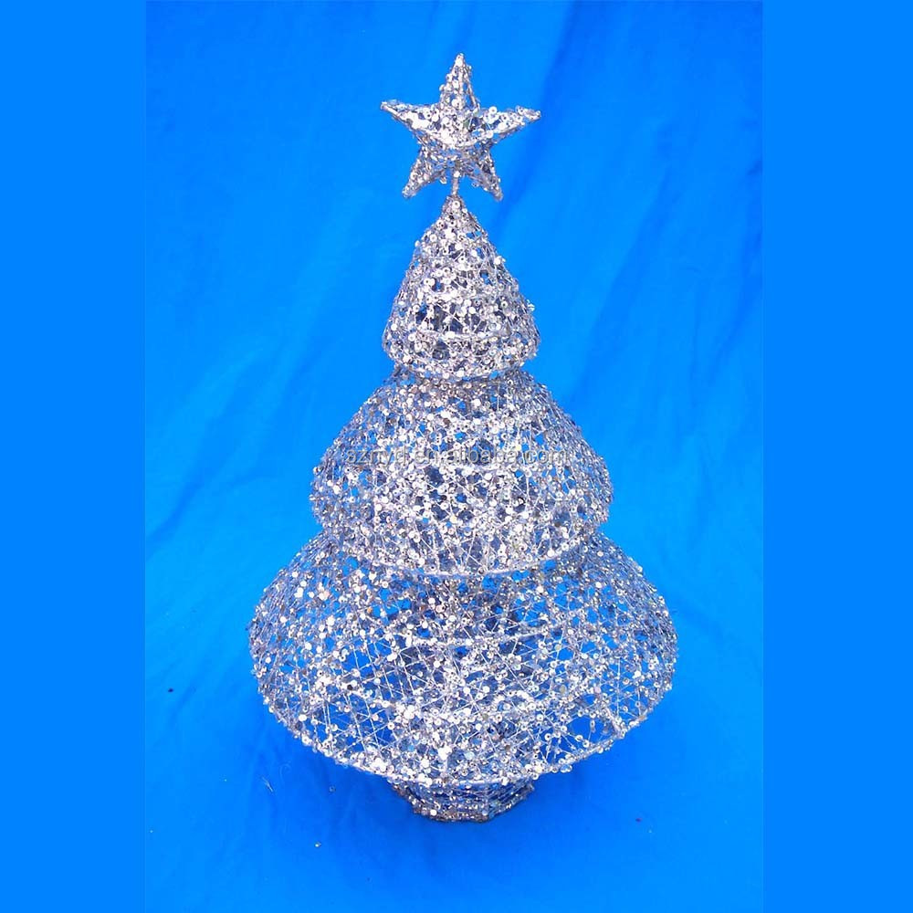 Handmade Mini Umbrella Christmas Tree