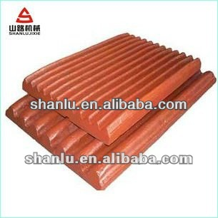 Mn13Cr2 fixed Jaw plate manufacturer with good price