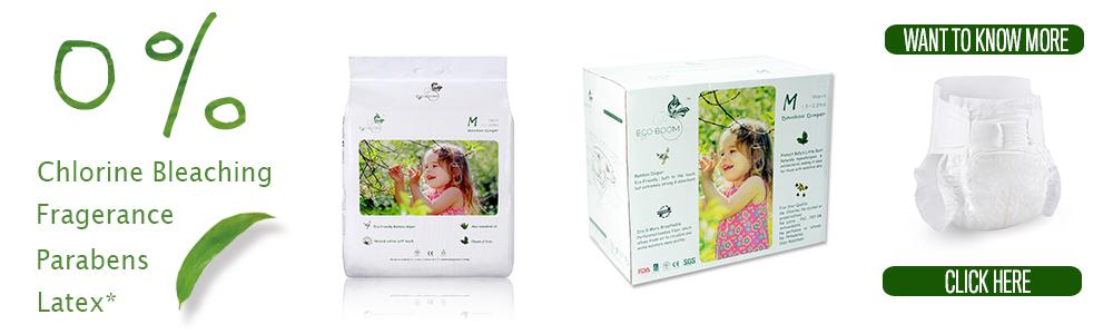 ECO BOOM tessuto di bambù morbido delicato biodegradabile organico di pulizia anti-batterico bagnato salviette per neonati