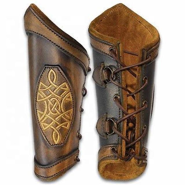 https://sc01.alicdn.com/kf/HTB1mdKUXJfvK1RjSszhq6AcGFXa7/factory-direct-supply-Leather-Arm-Guard-Bracers.jpg