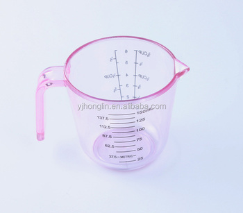 150ml Cup Lab Cooking Kitchen Accurate Clear Small Plastic Measuring Cups