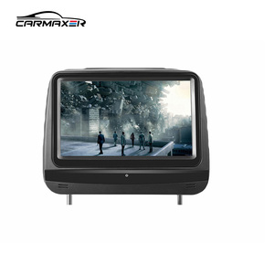 9'' touch screen monitor 1080p car headrest dvd