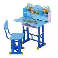 DT- A Children Study Assemble Furniture Cheap desk and chairs student school study table set