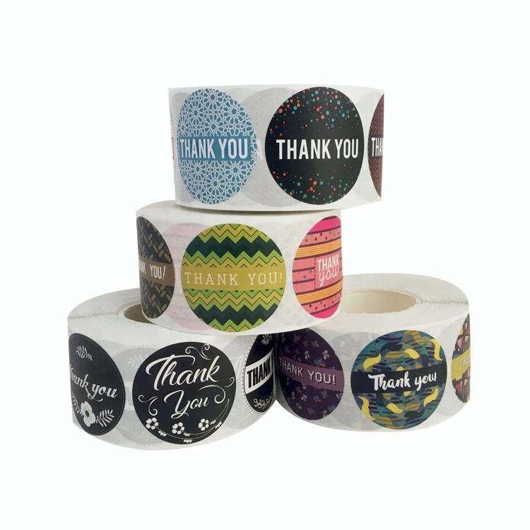 Assorted Round Paper Custom Printing Label Sticker,custom pvc sticker roll,self adhesive sticker paper