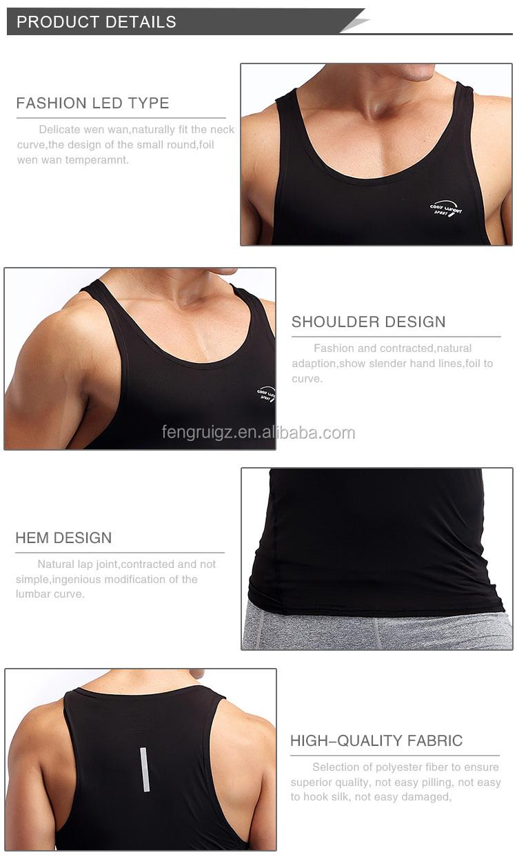 2017 Pria Gym Stringer Singlet Kaos Tanpa Lengan Tank Top Baju Tanktop Fashion Bodybuilding Fitness Pakaian Otot Olahraga Mesh