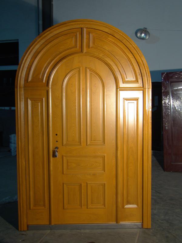 Venta al por mayor puertas en arco de madera compre online for Arcos de madera para puertas