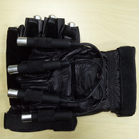 New design, palm laser shows, disco stage laser gloves for couples DJ dancer.