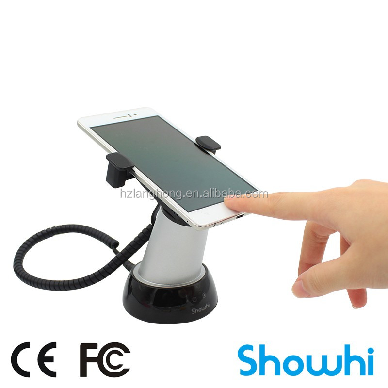 Mobile Phone High Security Charging Display Stand Anti-theft ...