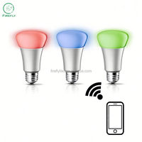 Elegant package AC85-265v Iphone and Andrio wifi led bulb for coffee bar