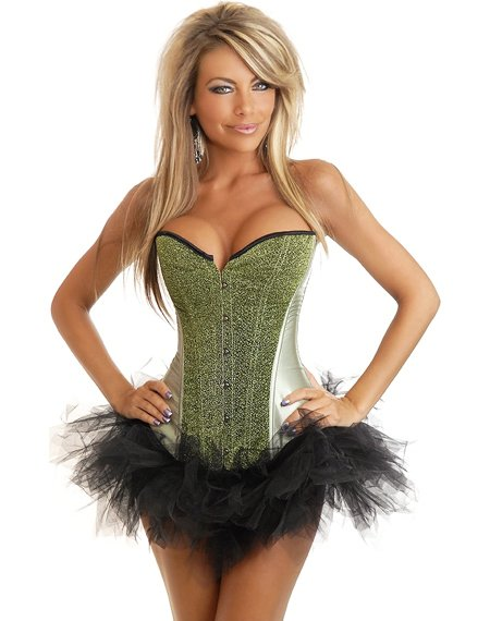 6774606a79 Sequin Burlesque Corset colro Black Green Yellow Blue Red and Purple are  available C8268