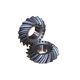 Accessories parts small straight spiral bevel gear