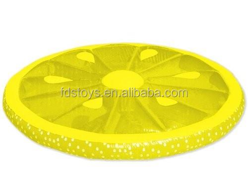 Haute qualit gonflable citron tranche flottante piscine le bou e de natatio - Ile gonflable piscine ...