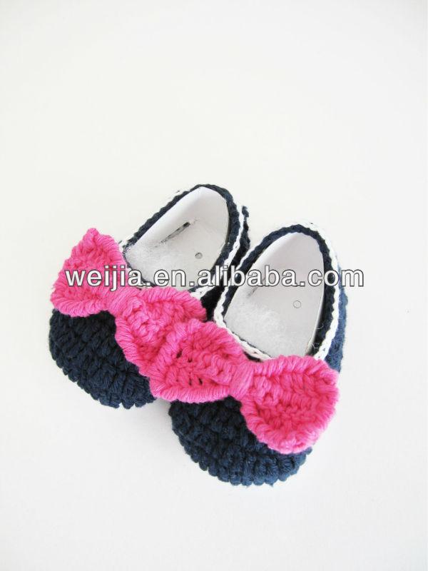 c8d2f4b1445de Lovely Hand Made Cotton Crochet Baby Girls Socks Shoes - Buy Cotton Baby  Socks,Baby Girls Shoes,Cotton Baby Shoes Product on Alibaba.com