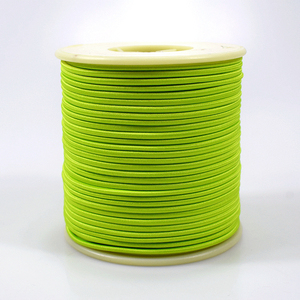 Custom color polyester 2mm elastic packing rope spool