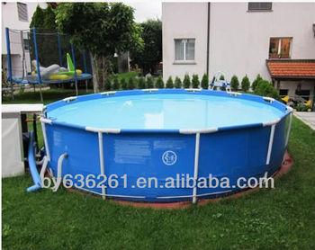 Plastic outdoor garden water pump fish pond fish tank for Outdoor plastic ponds