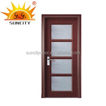 Good Quality Rfl Pvc Interior Bathroom Door Glass Door Price Buy