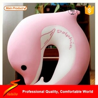 STABILE TOPRANK neck travel pillow micro bead, custom microbead pillow animals, travel neck pillow filled with polystyrene beads