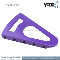 Stainless steel multi-function kitchen gadgets triangle large can bottle opener
