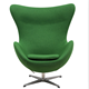 rental mumbai oval green fabric fiberglass restaurant egg chair sofa