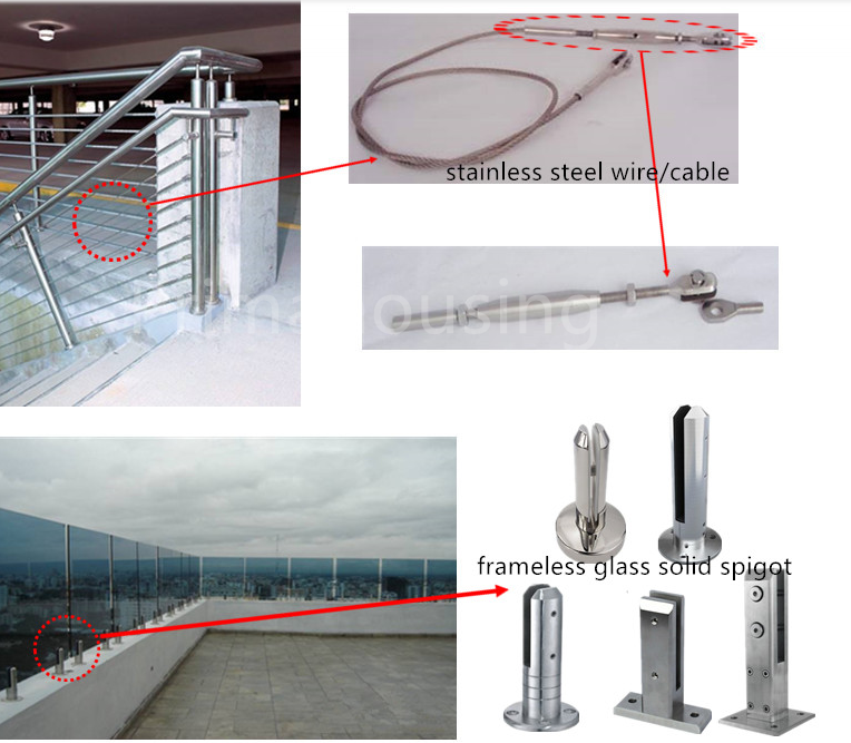 Cable Deck Rails Wire Railing Systems For Decks Stainless Steel ...