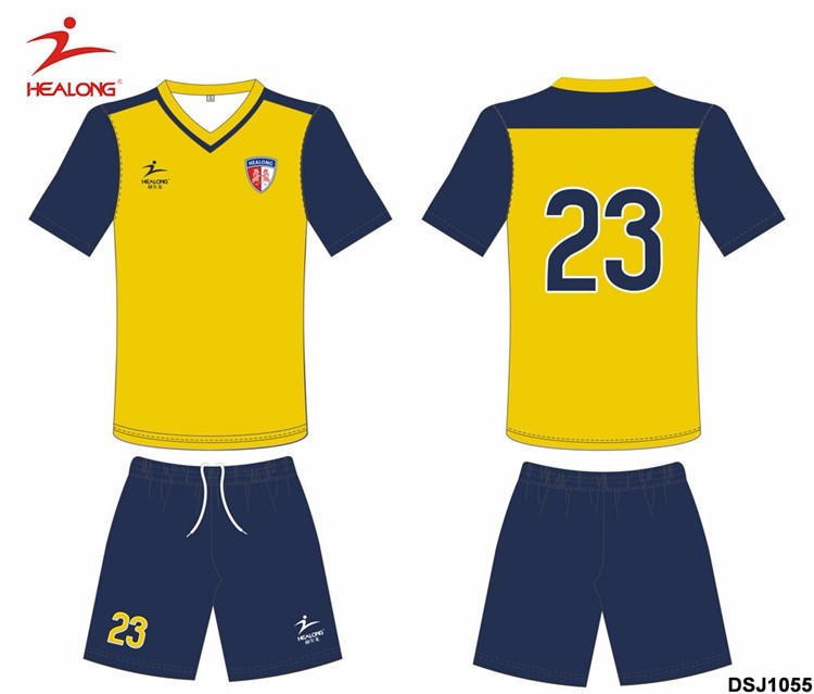 b90bf0fc80a33 Una serie de fútbol de entrenamiento del equipo uniforme Jersey ropa  deportiva