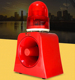 Construction Site Safety Alert Battery Operated Outdoor Tower Beacon Siren