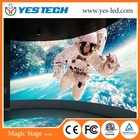 Full Led Tv Curved Led Screen P8 Full Color Outdoor Advertise Big Curved LED TV Screen