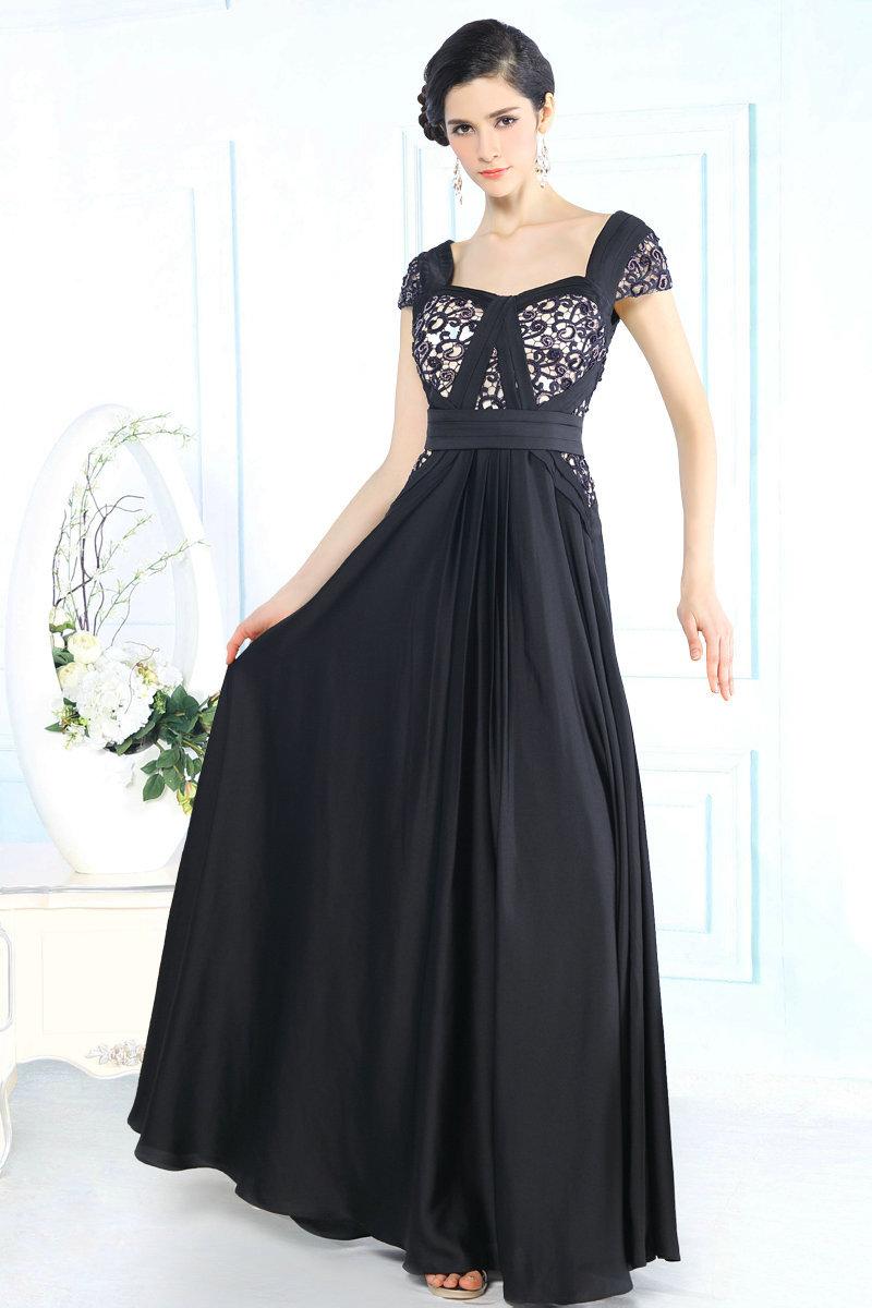 dfca20b0fd377 Cheap Full Length Long Sleeve Black Dress, find Full Length Long ...