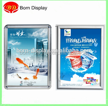 Cheap Customsize A1 A2 A3 A4 Size Sliver 25mm Round Picture Frame