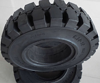 Solid Forklift Tyres 250/75-12 For Linde - Buy Solid