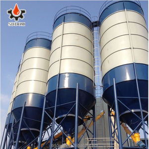 SDDOM 4mm Thickness Of Plate Bolted Cement Silo For Sale