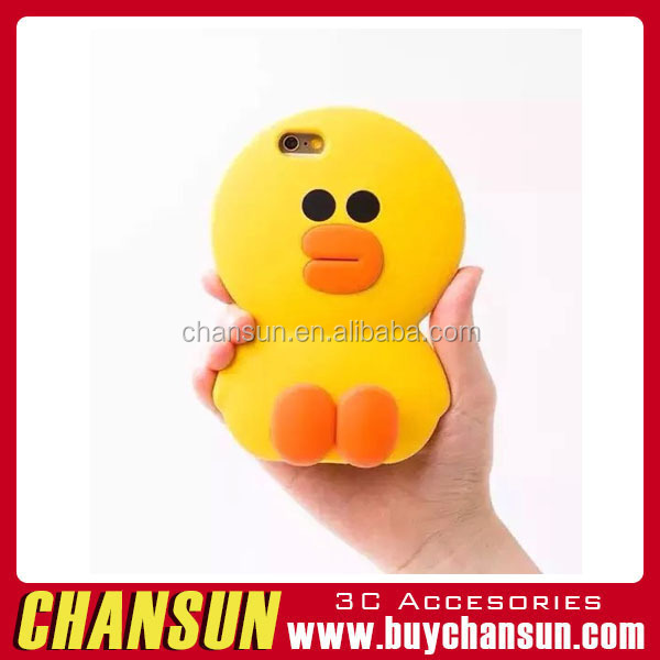 For iPhone 4 5S 6 6S 6Plus 6S Plus Rubber Yellow Covers ,For iPhone 6S Silicon Case