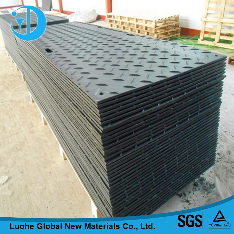 There are ways of HDPE tracking ground mat board HDPE earthing protection panel