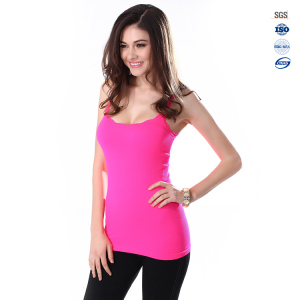 2017 Fashion women mesh sexy hot sale gym yoga tank top
