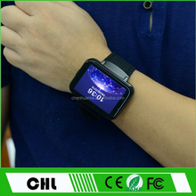 Hot Sale Internet Watch Phone Dm98 Mtk 6572 Dual Core Ultra Long Standby 3G Wifi Android Smart Watch With Sim Card