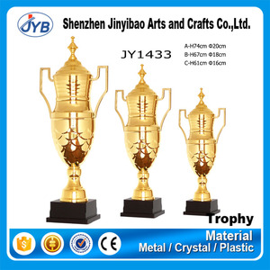 best Europe feature trophies supply your own metal gold sport soccer basketball golf trophy cup