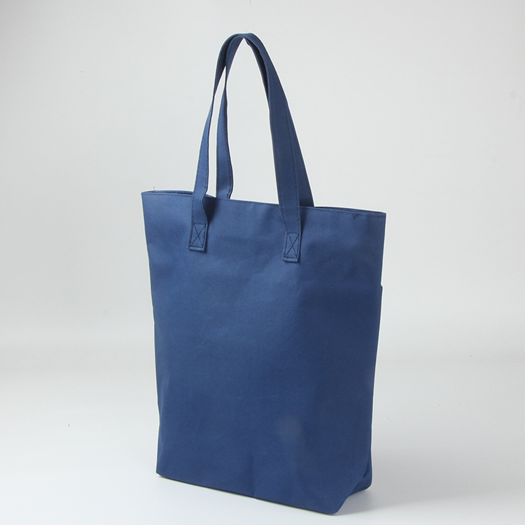 China custom logo wholesale OEM production shopping canvas tote bag