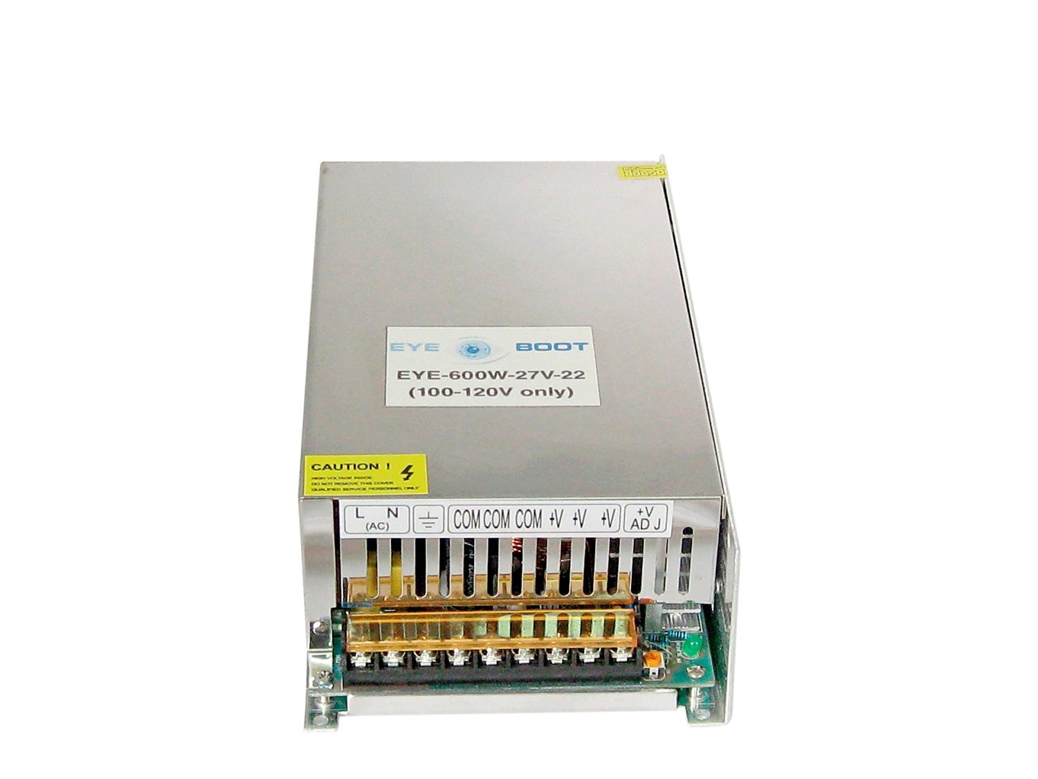 Eyeboot 27V 22A DC Universal Regulated Switching Power Supply 600w