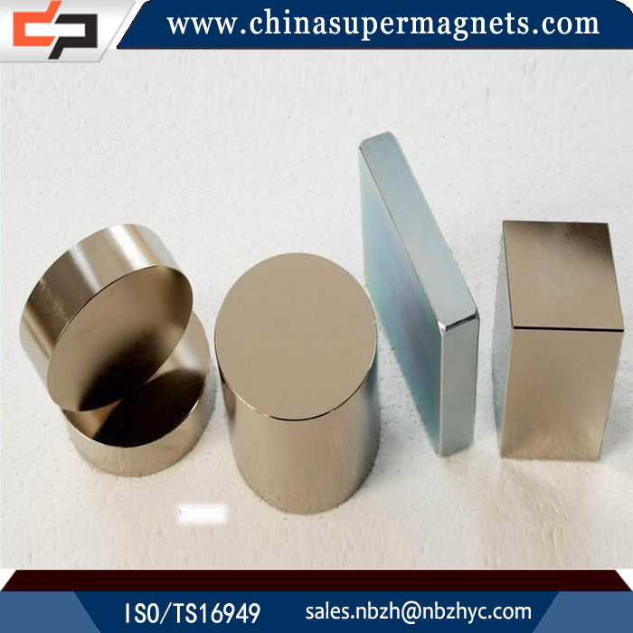 Corrosion resistant Customized Industrial neodymium magnets 100mm