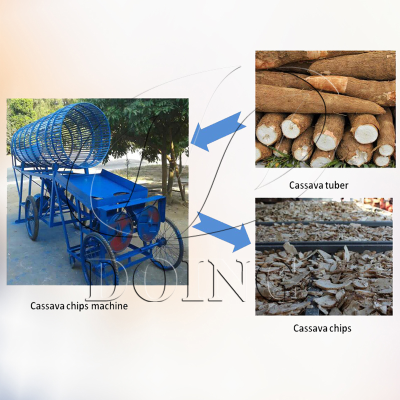 Small machines for business cassava chipper on sale