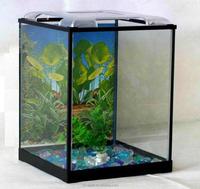2015 Wholesale Glass Fish Aquriums Custom Fish Tank Round Design ...