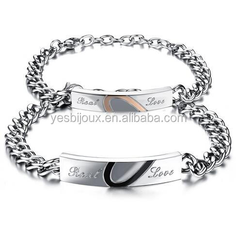 cheap mix lots wholesale couple titanium bangle